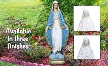Religious Garden Statues