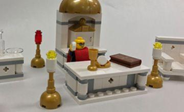 Father Leopold Celebrates Mass