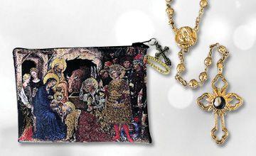 Nativity Stone Rosary